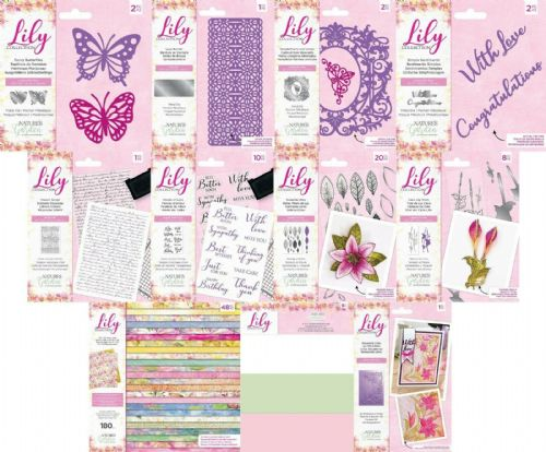Crafters Companion - Nature's Garden - Lily Collection